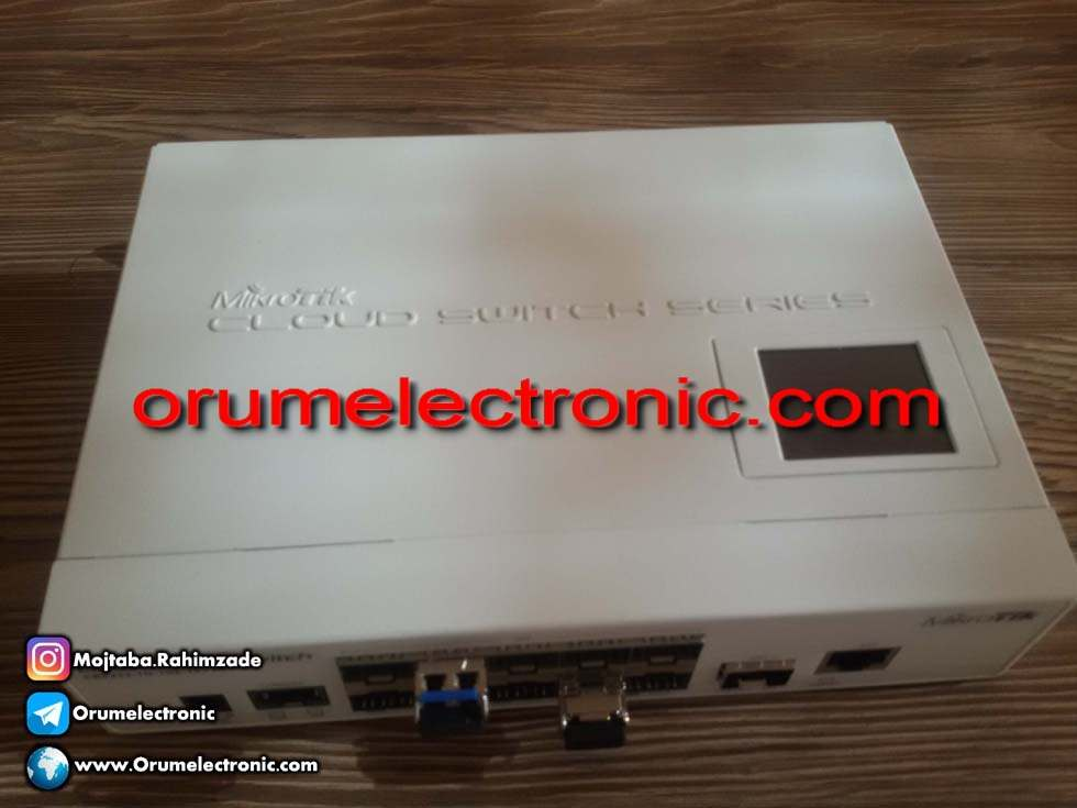 Switching power supply mikrotik router