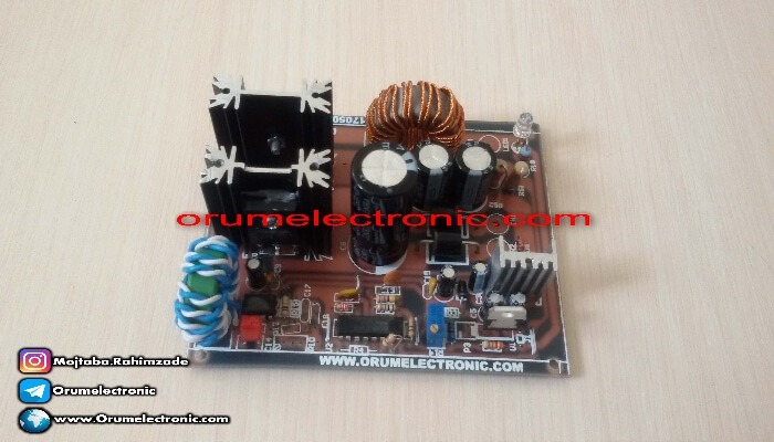 Buck converter voltage reducer 10 amp