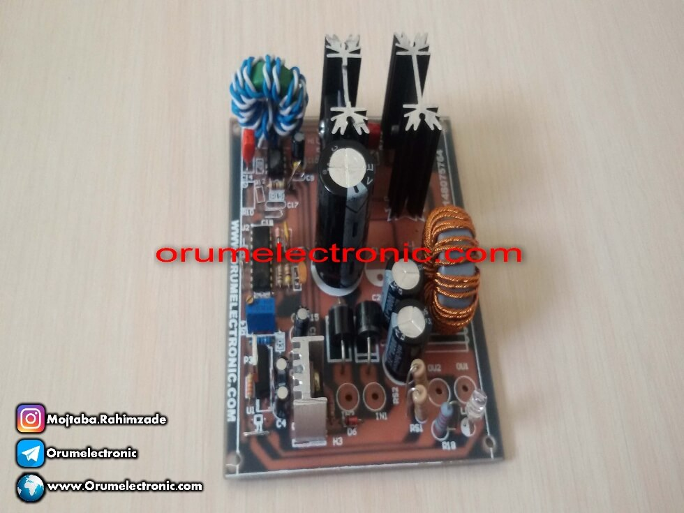 Buck converter voltage reducer 10 amp