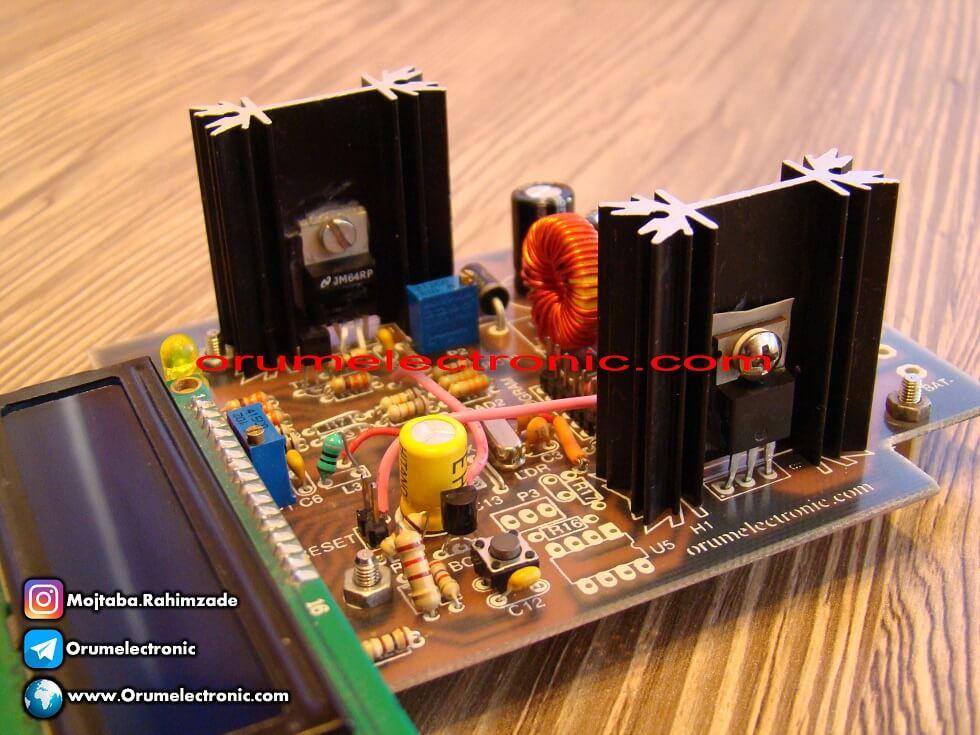 شارژ کنترلر خورشیدی ۳ آمپر