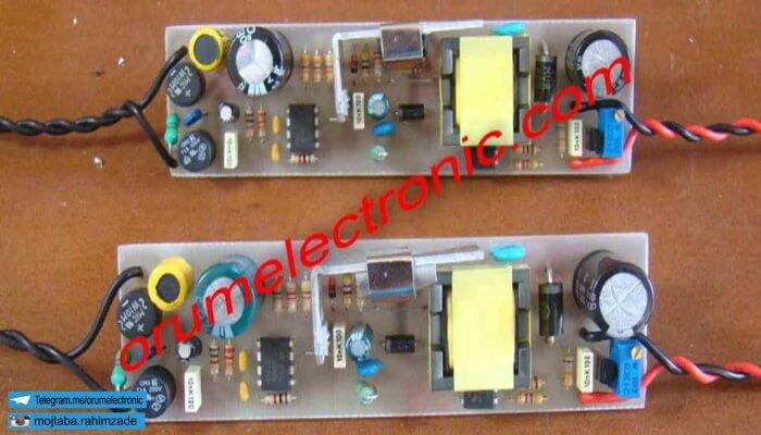 طراحی و ساخت انواع مدارات الکترونیکی و مخابراتی