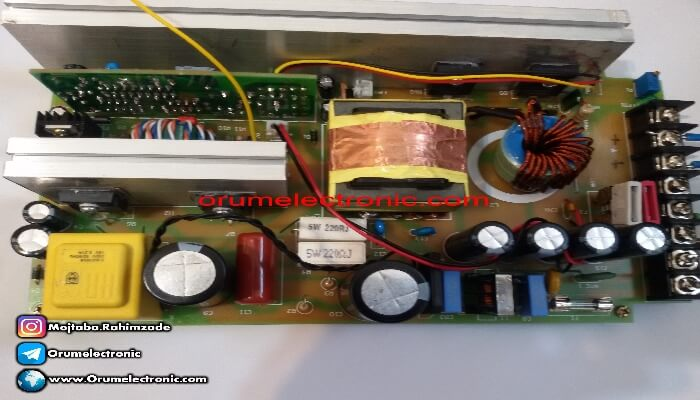 Switching power supply 5V 40A