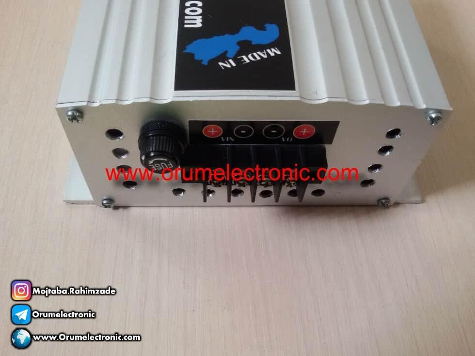 عکس افزاینده ولتاژ 24 به 48 ولت