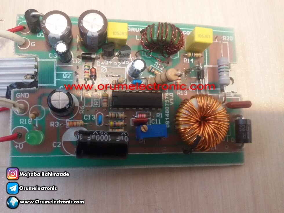 Alternative range LM2576 and LM2596 with high amp