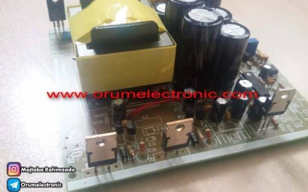 مبدل ولتاژ بالا مخصوص ماشین های هیبریدی